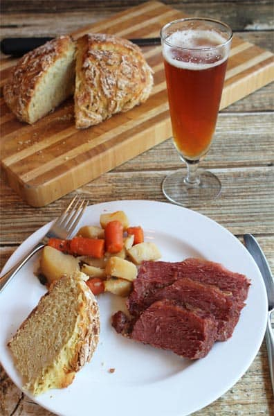 Corned Beef and Irish Soda Bread   2CookinMamas