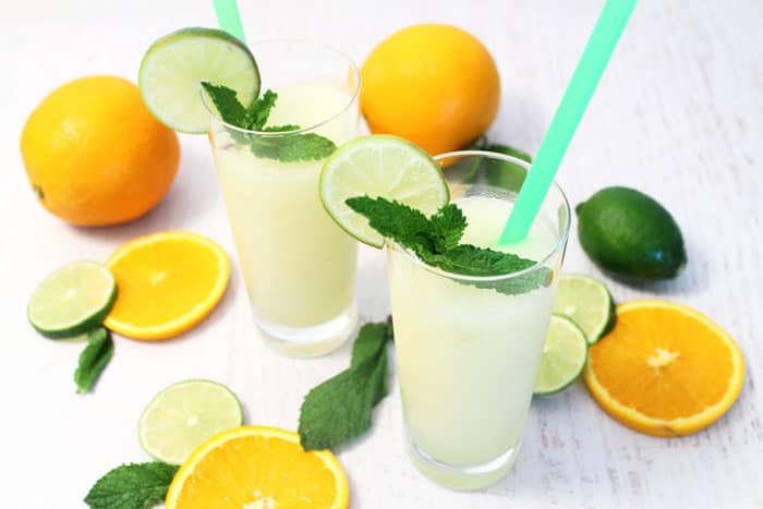 Vodka Limeade Cocktail 3 | 2 Cookin Mamas