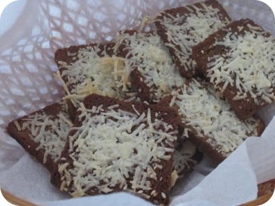 Parmesan Rye Crisps