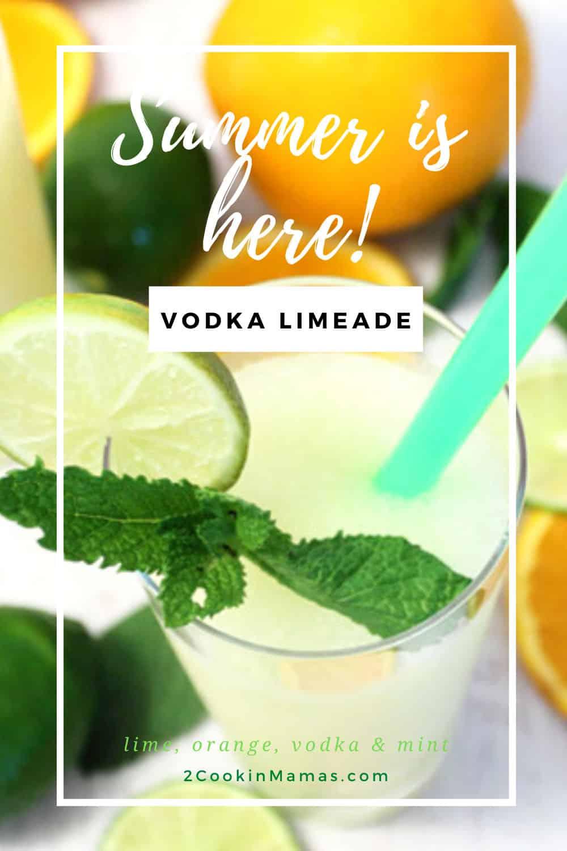 Vodka Limeade - Like Summer in a Glass