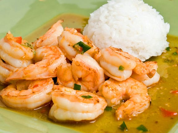 thai-ginger-sweet-red-chili-shrimp by once upon a chef