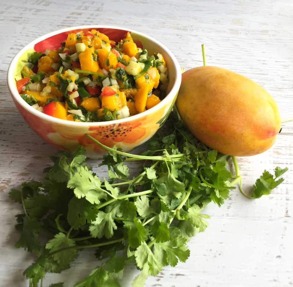 Mango Salsa | 2 Cookin Mamas