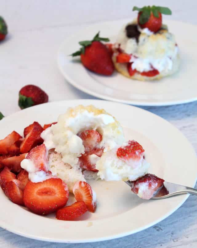 Strawberry Shortcake yum | 2 Cookin Mamas