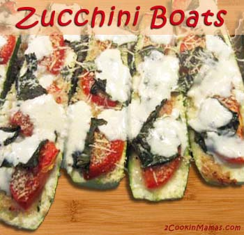 Zucchini Boats | 2CookinMamas