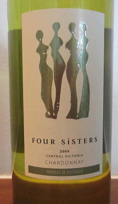 2009 Four Sisters Chardonnay