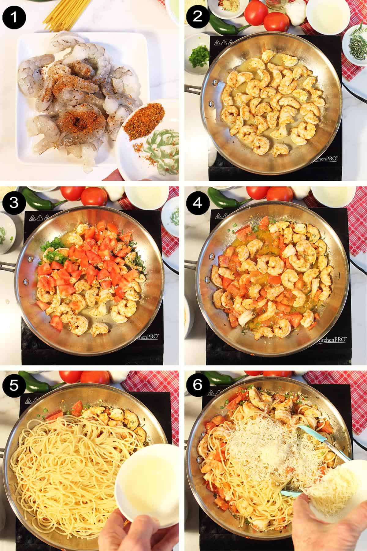 How to Cook Rattlesnake Pasta steps 1-6