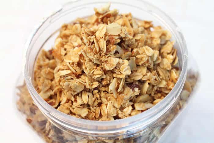 Vanilla Almond Granola 3 | 2 Cookin Mamas