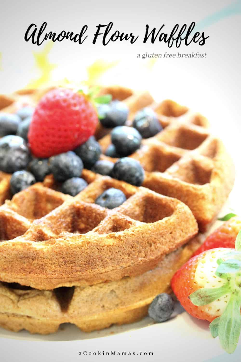 Buttermilk Almond Flour Waffles