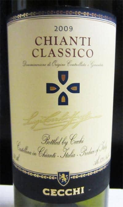 2009 Cecchi Chianti Classico