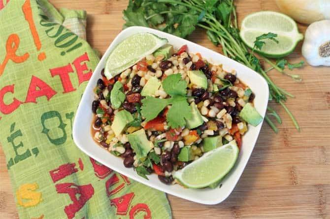 Black Bean Salad 670 | 2CookinMamas