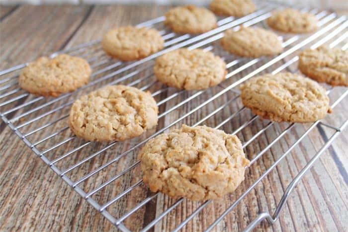 Gluten free Peanut Butter Cookies 5 | 2 Cookin Mamas