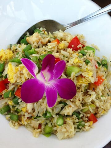 Pineapple Fried Rice square