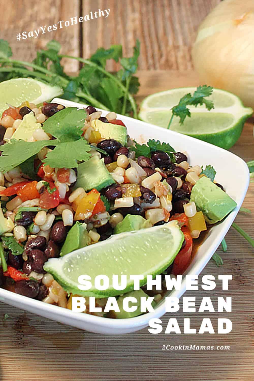 Healthy Southwest Black Bean Salad