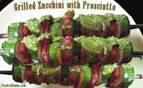 Zucchini and Prosciutto Skewers | 2CookinMamas