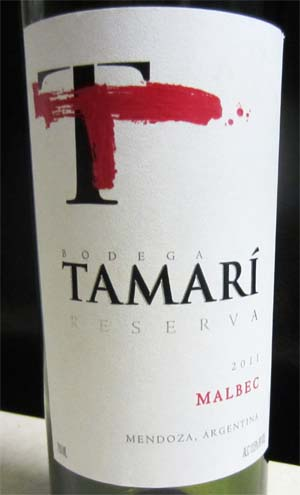 2011 Tamari Malbec