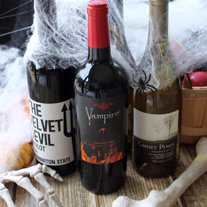 10 Spooky Halloween Wines square | 2 Cookin Mamas