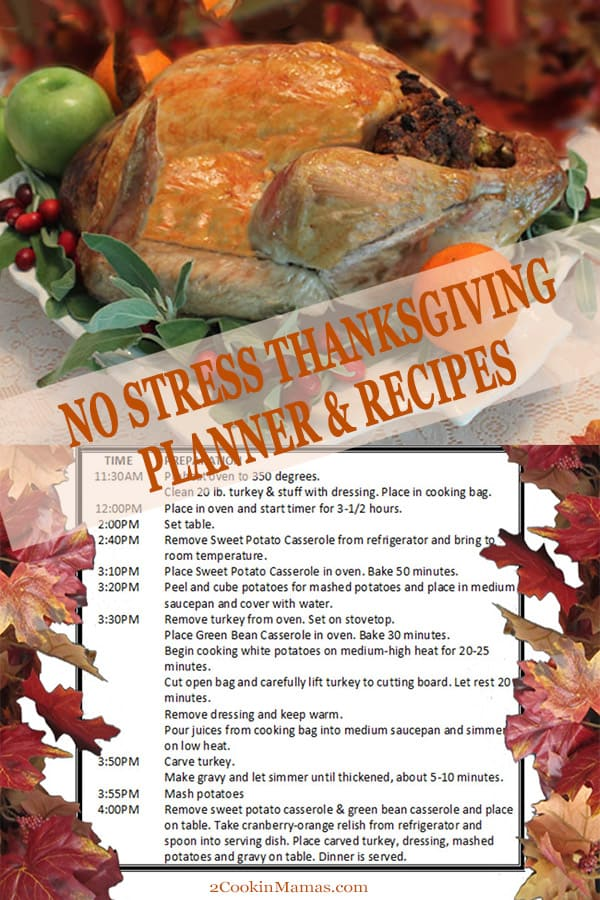 No Stress Thanksgiving Series + Planner