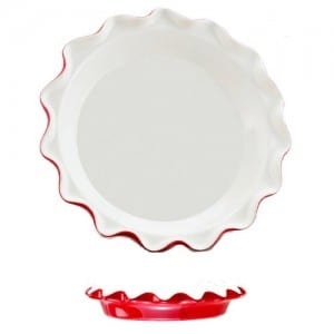 fluted pie plate