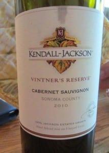 2010 Kendall Jackson Cabernet Sauvignon