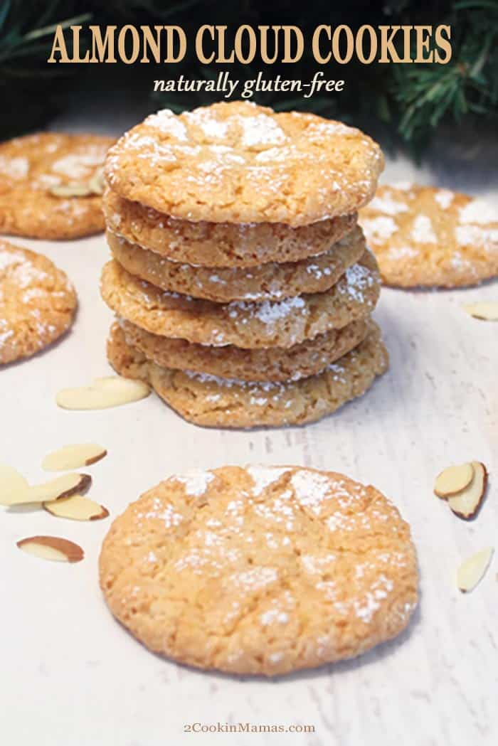 Almond Cloud Cookies – Naturally Gluten Free