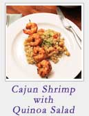 Cajun Shrimp with Quinoa Salad