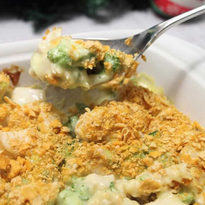 Chicken Broccoli Casserole square | 2 Cookin Mamas