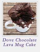Dove Chocolate Lava Mug Cake