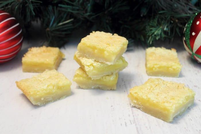 Gluten Free Lemon Squares 2 | 2 Cookin Mamas