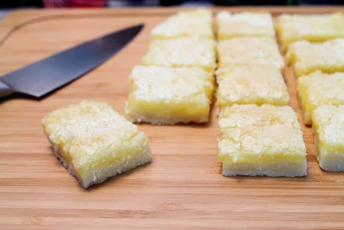 Gluten Free Lemon Squares 5 | 2 Cookin Mamas