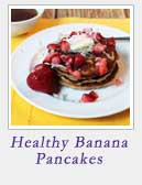 Healthy Banana Pancakes