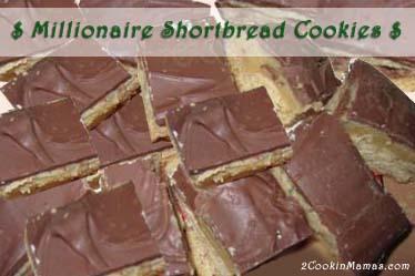 Millionaire Shortbread Cookies