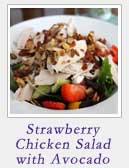 Strawberry Chicken Salad with Avocado   2CookinMamas