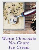 White Chocolate No Churn Ice Cream