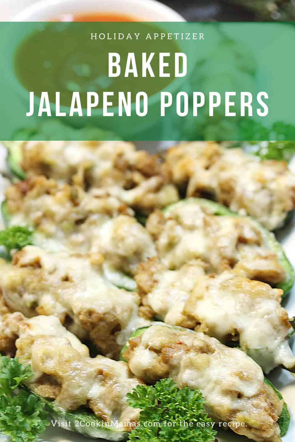 Easy Baked Jalapeno Poppers with Sausage