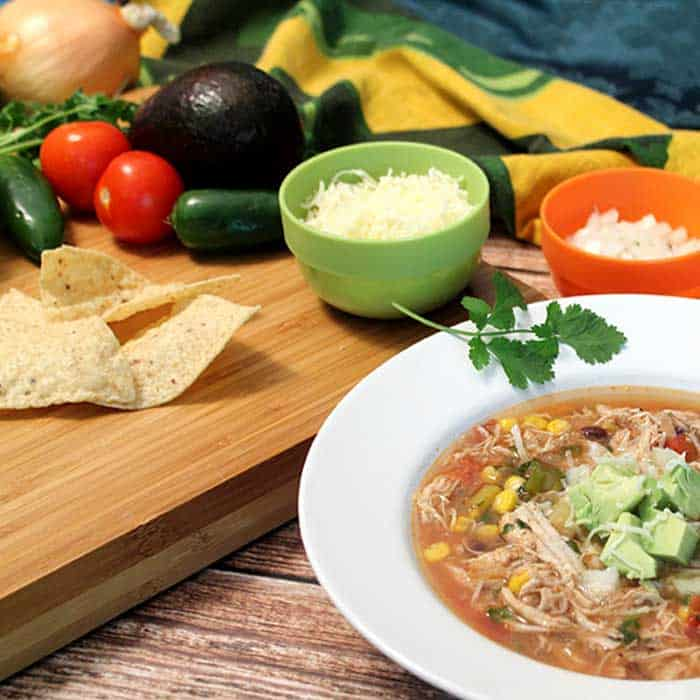 Chicken Tortilla Soup 4 | 2 Cookin Mamas