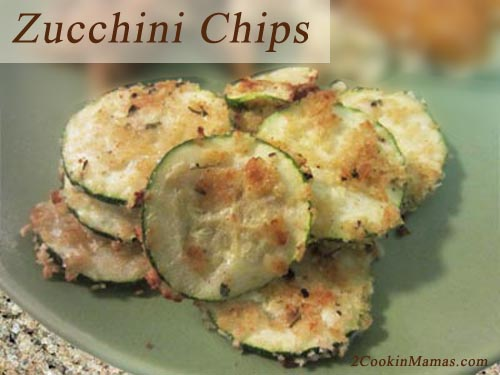 Zucchini Chips | 2CookinMamas
