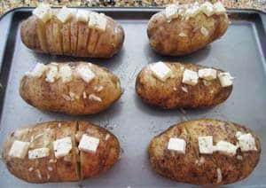 Potato Fan prep | 2CookinMamas