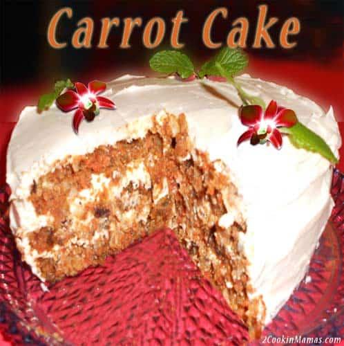 Carrot Cake | 2CookinMamas
