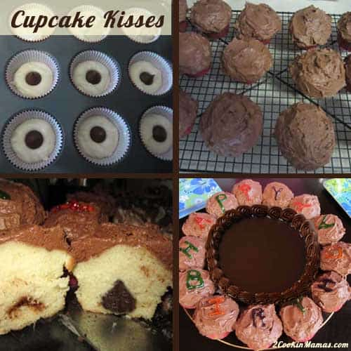 Cupcake Kisses  2CookinMamas