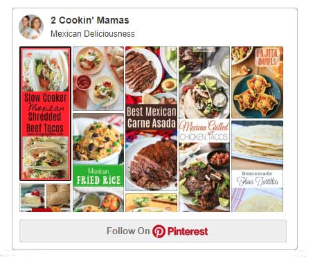 Mexican Deliciousness Pinterest board