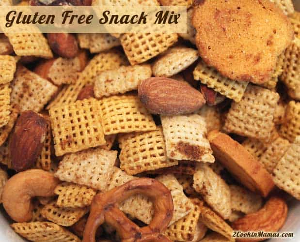 Gluten Free Snack Mix | 2CookinMamas