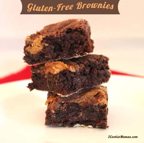 Gluten Free Brownies | 2CookinMamas