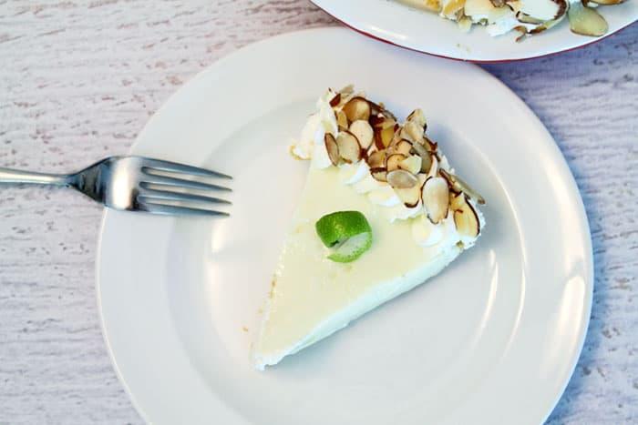 Key Lime Pie slice | 2 Cookin Mamas