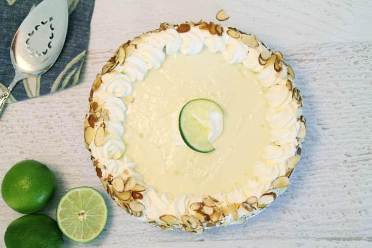 Key Lime Pie whole | 2 Cookin Mamas