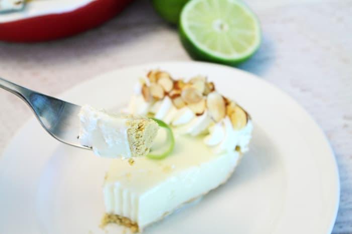 Key Lime Pie bite | 2 Cookin Mamas
