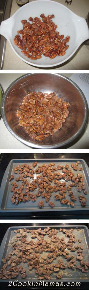 Candied Pecans steps   2CookinMamas