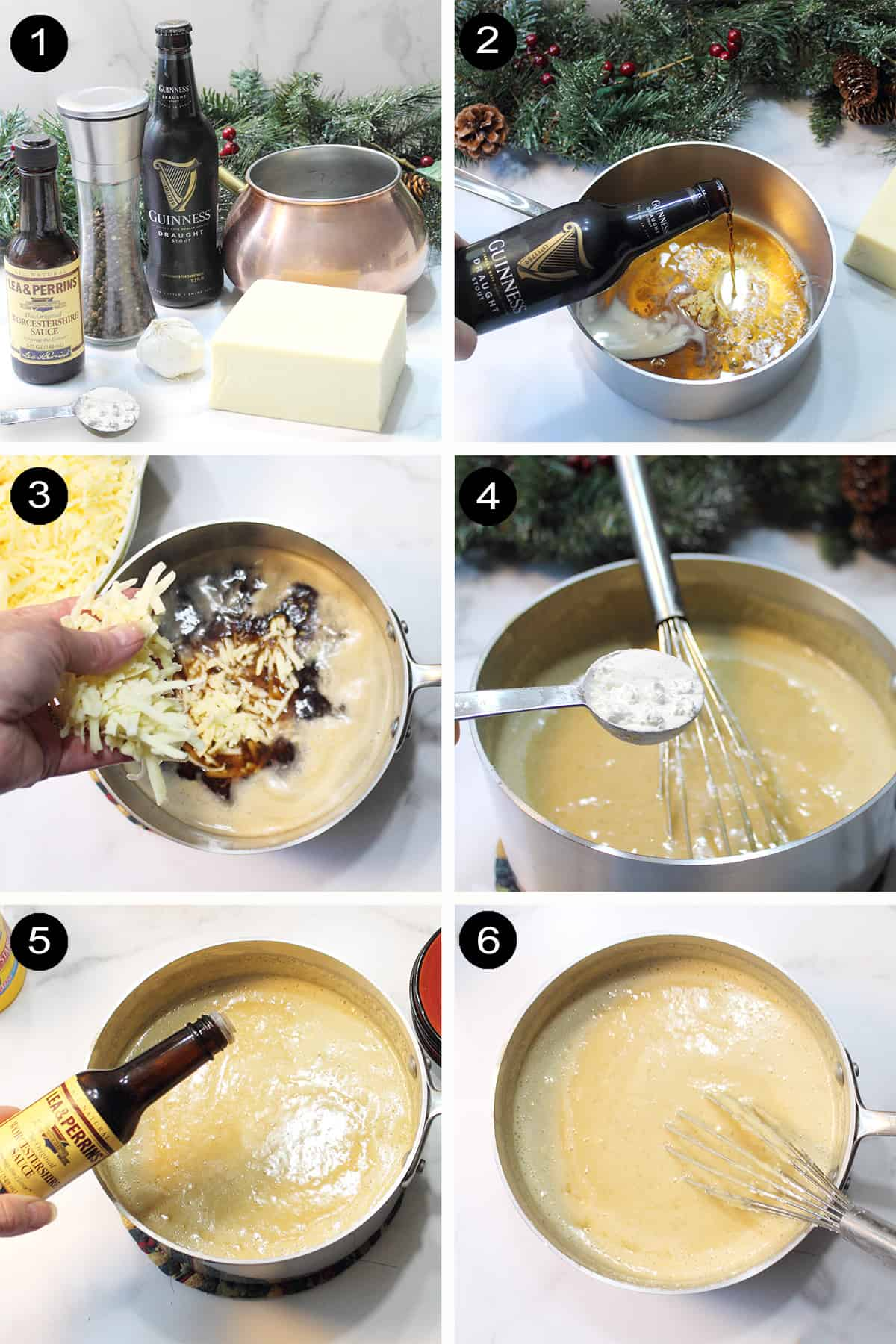 How to make cheddar cheese beer fondue.