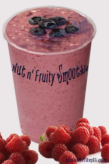 Nut N Fruity Smoothie | 2CookinMamas