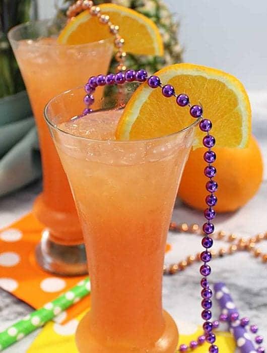 Hurricane cocktail square