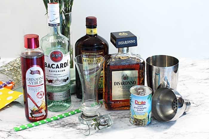 Hurricane ingredients